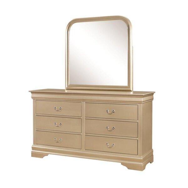 Allenville 6 Drawer Double Dresser by Alcott Hill