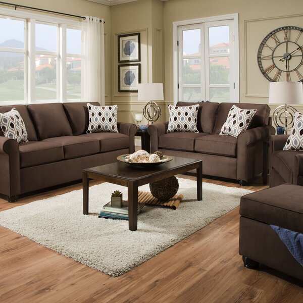 McGugin Sleeper Configurable Living Room Set by Winston Porter Winston Porter