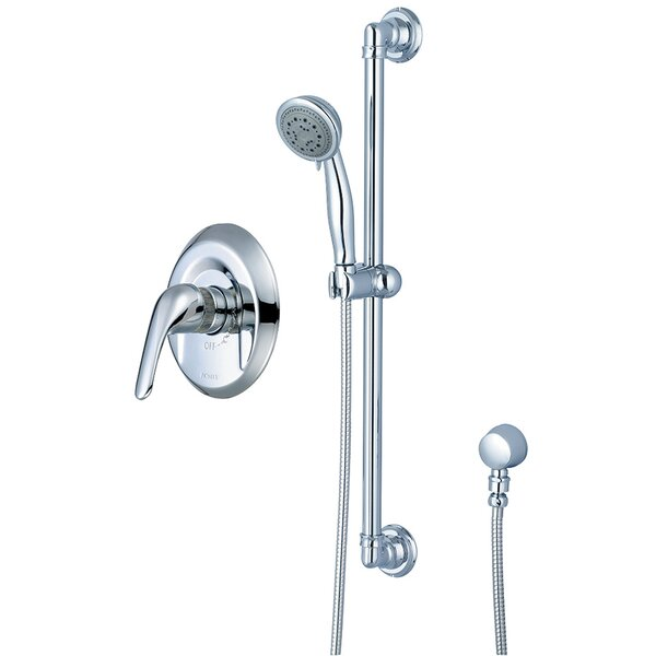Legacy Single Handle Shower Faucet with Trim and Diverter by Pioneer