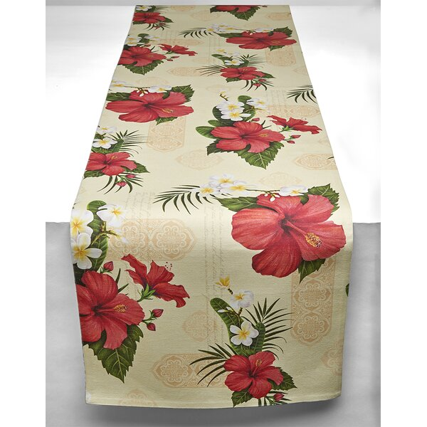 Hibiscus Blossom Table Runner by TSC Giftables