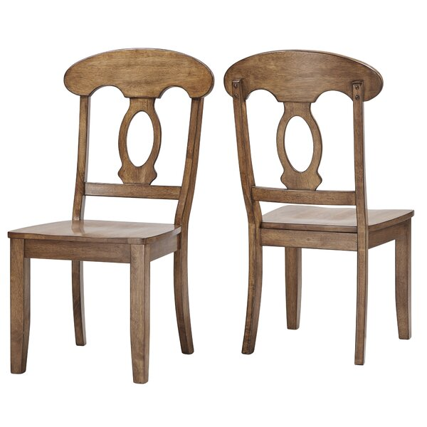 Back Bay Dining Chair (Set of 2) by Three Posts