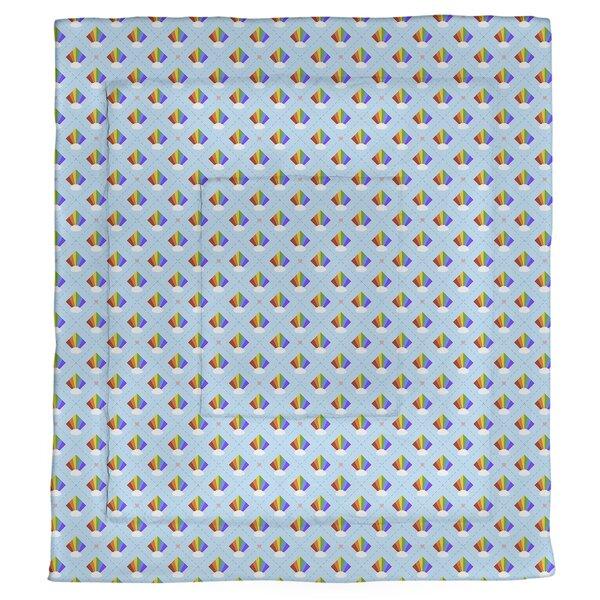 Avicia Argyle Rainbow Single Reversible Comforter