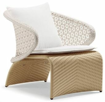 Exotica Single Chair with Cushions by 100 Essentials