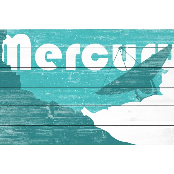 Mercury Graphic Art on Wood by Marmont Hill