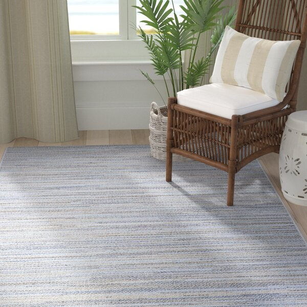 @ Lorenzo Taupe/Champagne/Blue Indoor/Outdoor Area Rug by Langley Street| #$39.00!
