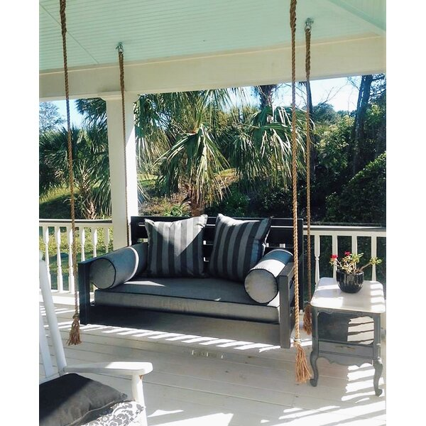 The Beautiful Beaufort Porch Swing By Custom Carolina Hanging Beds