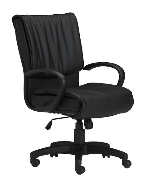 Genuine Leather Executive Chair by Mayline Group