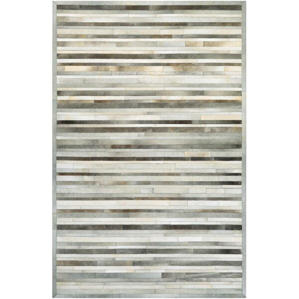Covina Hand-Woven Gray/Ivory Area Rug by Trent Austin Design