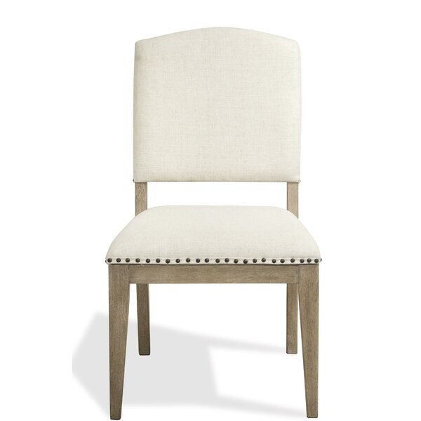 Handy Upholstered Dining Chair (Set of 2) by Gracie Oaks