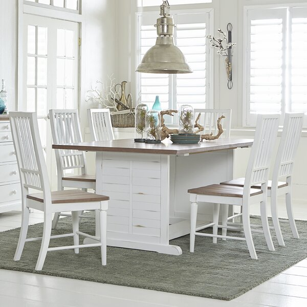 Galliano 7 Piece Dining Set by Rosecliff Heights