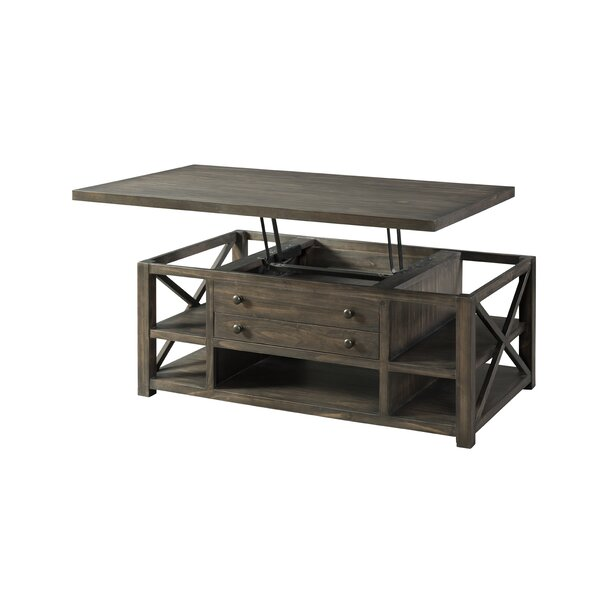 Melissa Lift Top Coffee Table with Storage by Loon Peak Loon Peak