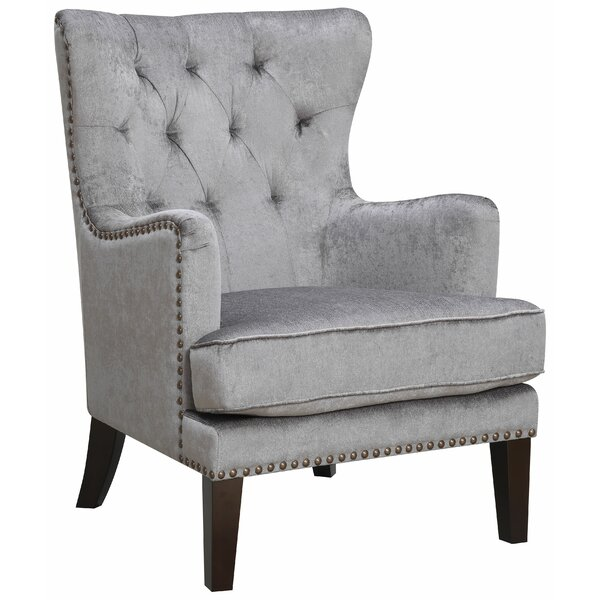 Isabella Wingback Chair by AC Pacific