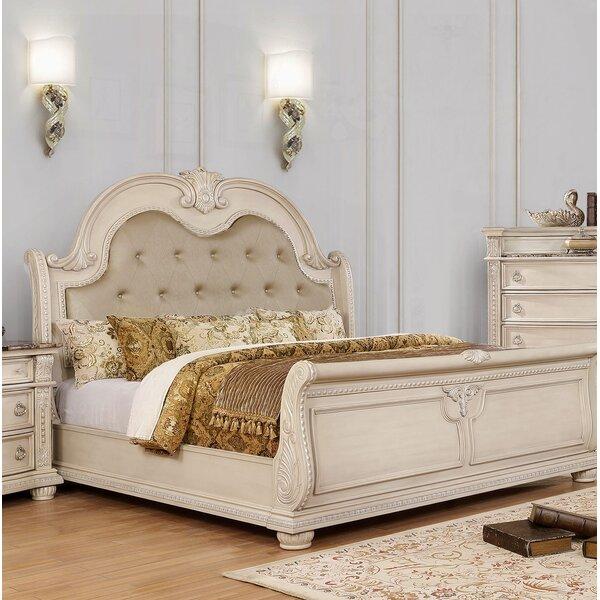 Makaila Upholstered Standard Bed by Rosdorf Park