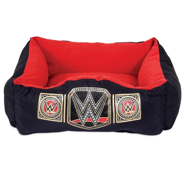Championship Bolster Dog Bed by WWE