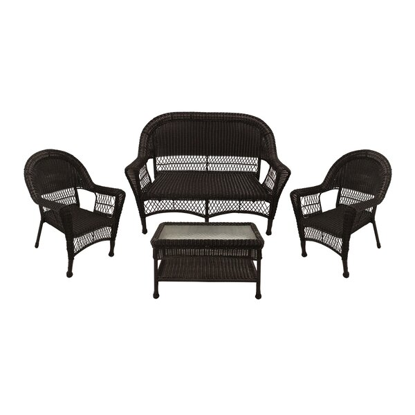 4 Piece Sofa Seating Group by LB International