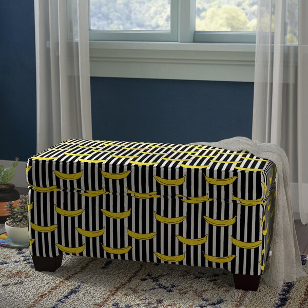 Paille Upholstered Storage Bench by Brayden Studio