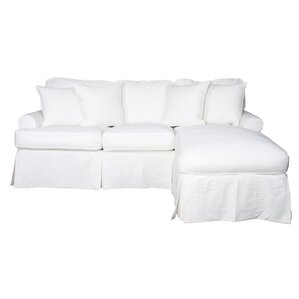 Coral Gables Reversible Sleeper Sectional  sc 1 st  Joss u0026 Main : joss and main sectional - Sectionals, Sofas & Couches