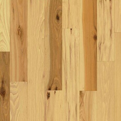 5 Solid Hickory Hardwood Flooring in Country Natural by Bruce Flooring