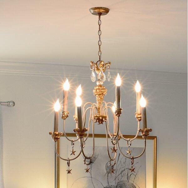 Cooperstown 8-Light Candle Style Tiered Chandelier by Fleur De Lis Living Fleur De Lis Living