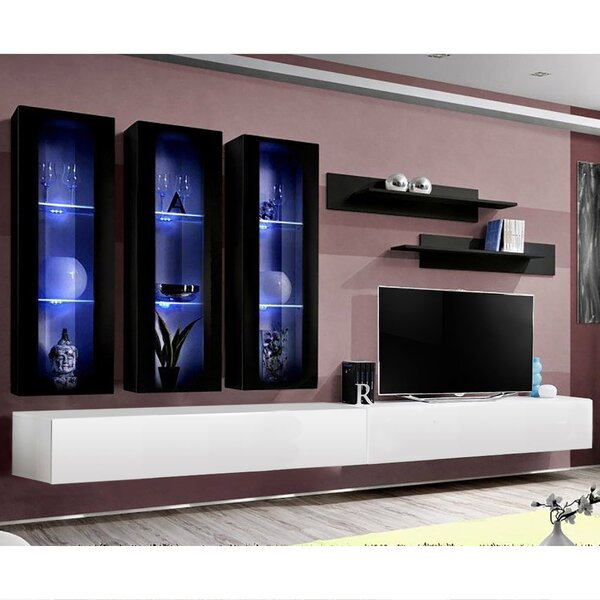Vredenburgh Floating Entertainment Center For TVs Up To 88