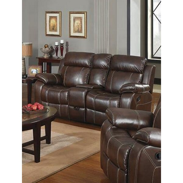 Modern Style Nygaard Motion Reclining Loveseat Surprise! 65% Off