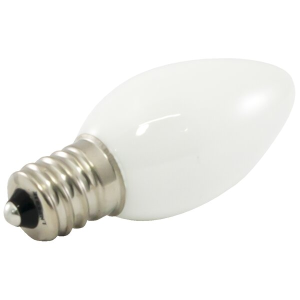 Frosted E12/Candelabra LED Light Bulb (Set of 25) by American Lighting LLC