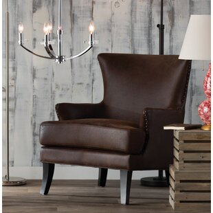 Buy clear Sirmans Wingback Chair By Loon Peak