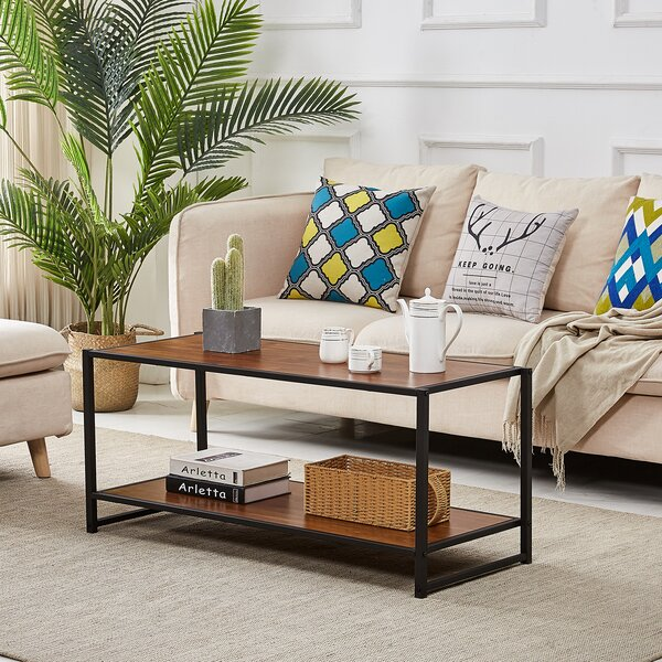 Brutus Coffee Table With Storage By Andover Mills
