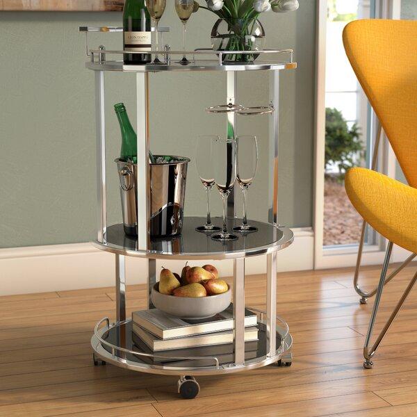 Avalon Server Bar Cart by Wade Logan