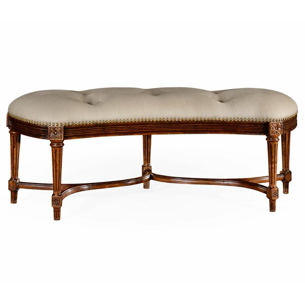 Windsor Upholstered Bench By Jonathan Charles Fine Furniture by Jonathan Charles Fine Furniture No Copoun