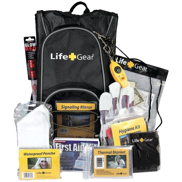 Day Pack Emergency Survival Backpack Kit by LifeGear