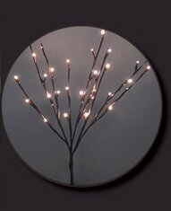 3 Piece 30 LED Lights Willow Branch with Battery and Timer Set by Hi-Line Gift Ltd.