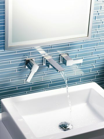 90 Degree Wall Mounted Bathroom Faucet by Moen