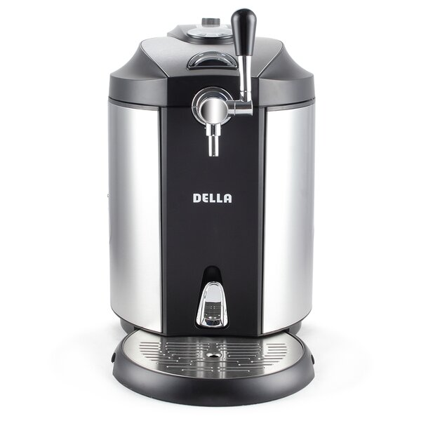 6 cu. ft. Single Tap Kegerator by Della