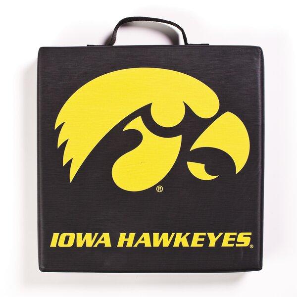 NCAA Iowa Hawkeyes Indoor/Outdoor Stadium Cushion by BSI Products