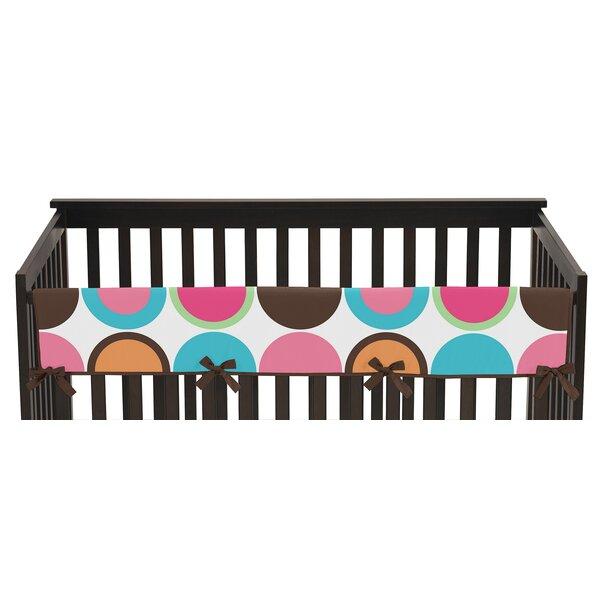 Deco Dot Long Crib Rail Guard Cover by Sweet Jojo Designs