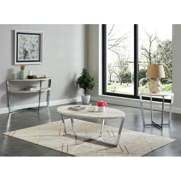 Sylviane 3 Piece Coffee Table Set by Orren Ellis Orren Ellis