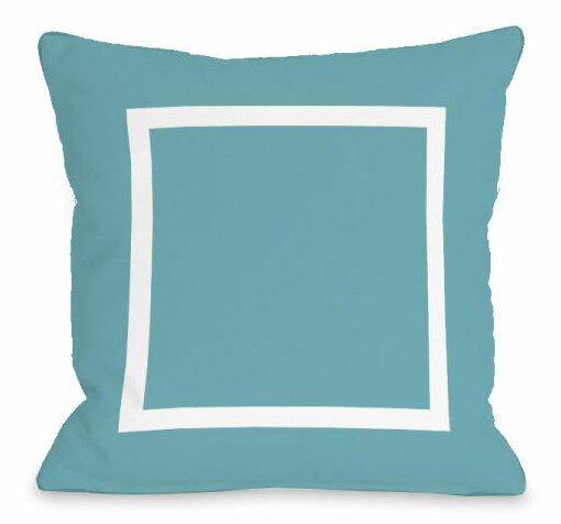 Open Box Outdoor Throw Pillow by One Bella Casa