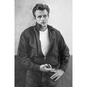 'James Dean' by Corbis Photographic Print on Wrapped Canvas by Buy Art For Less