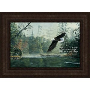 Out of the Mist by Greg Clair Framed Painting Print on Canvas by Hadley House Co
