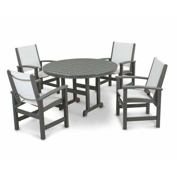 Coastal 5-Piece Dining Set by POLYWOOD®