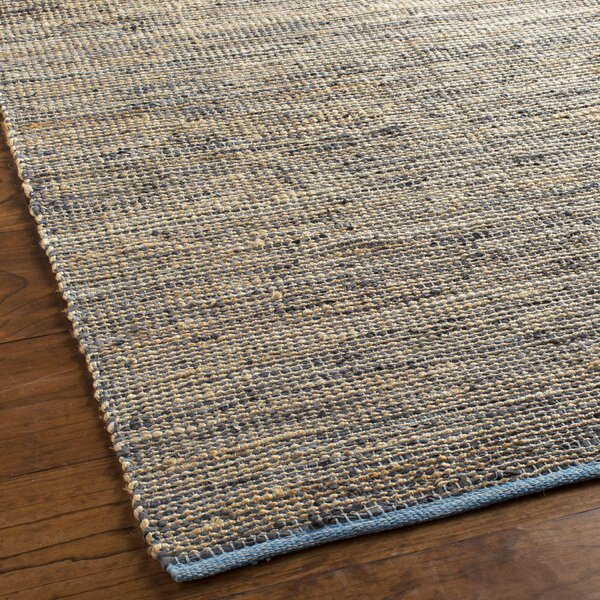 Lorna Hand-Woven Gray Area Rug by Beachcrest Home