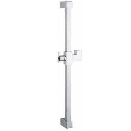 Claremont 23.6 Square Shower Slide Bar by Kingston Brass