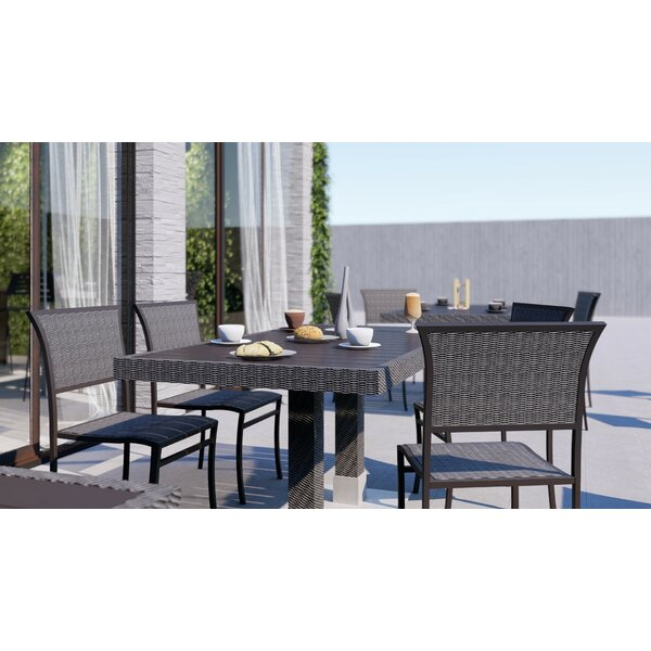 Bristol Stacking Teak Patio Dining Chair by Source Contract