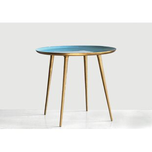 Imler Enameled Tray Table