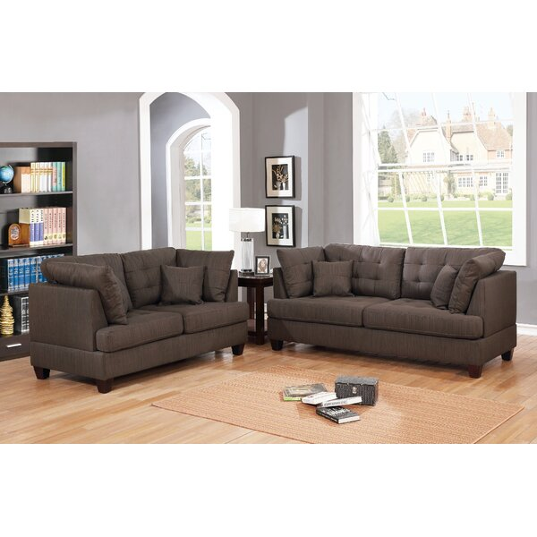 Hoyle 2 Piece Living Room Set by Ebern Designs
