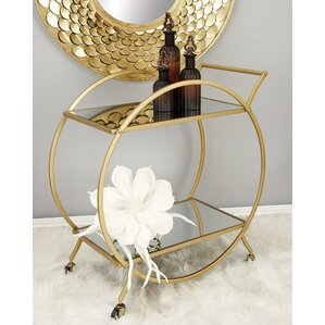 Kiven Bar Cart by Willa Arlo Interiors