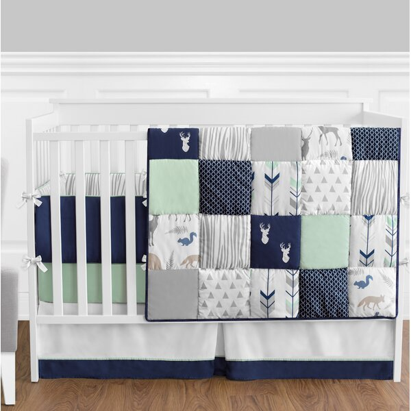 Woodsy 9 Piece Crib Bedding Set by Sweet Jojo Desi