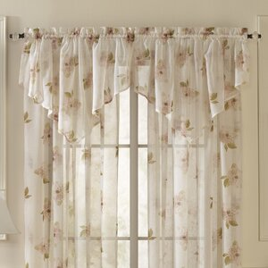 Overlock Scroll Ascot Curtain Valance