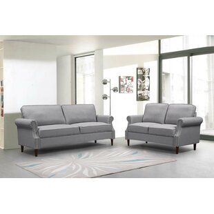 Repp 3 Piece Standard Living Room Set by Alcott Hill®